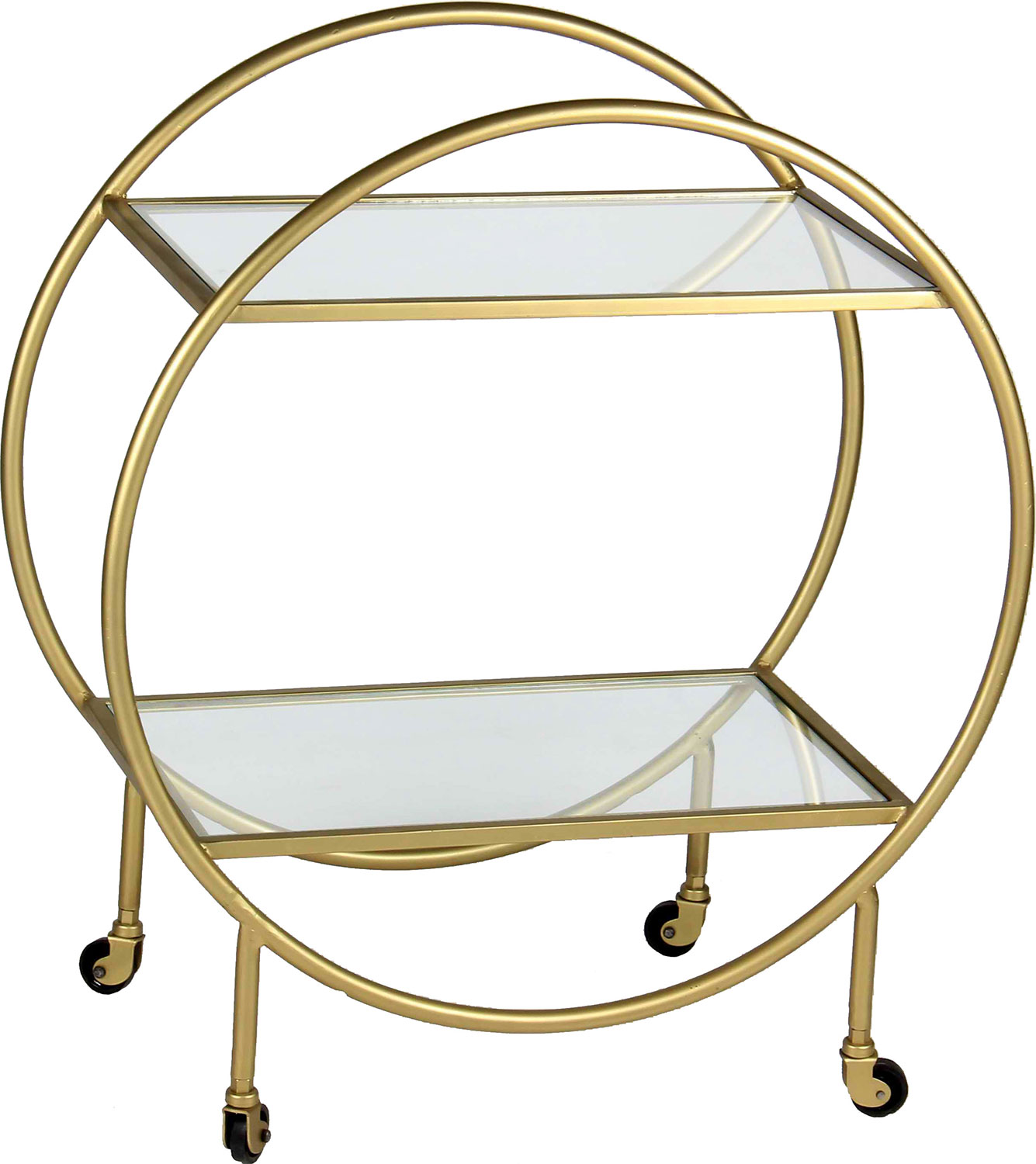 Ren-Wil Bass Coffee Table - Antique Gold