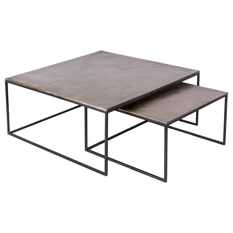 Ren-Wil Sanborn Accent table - Brass Antique/Matt Black