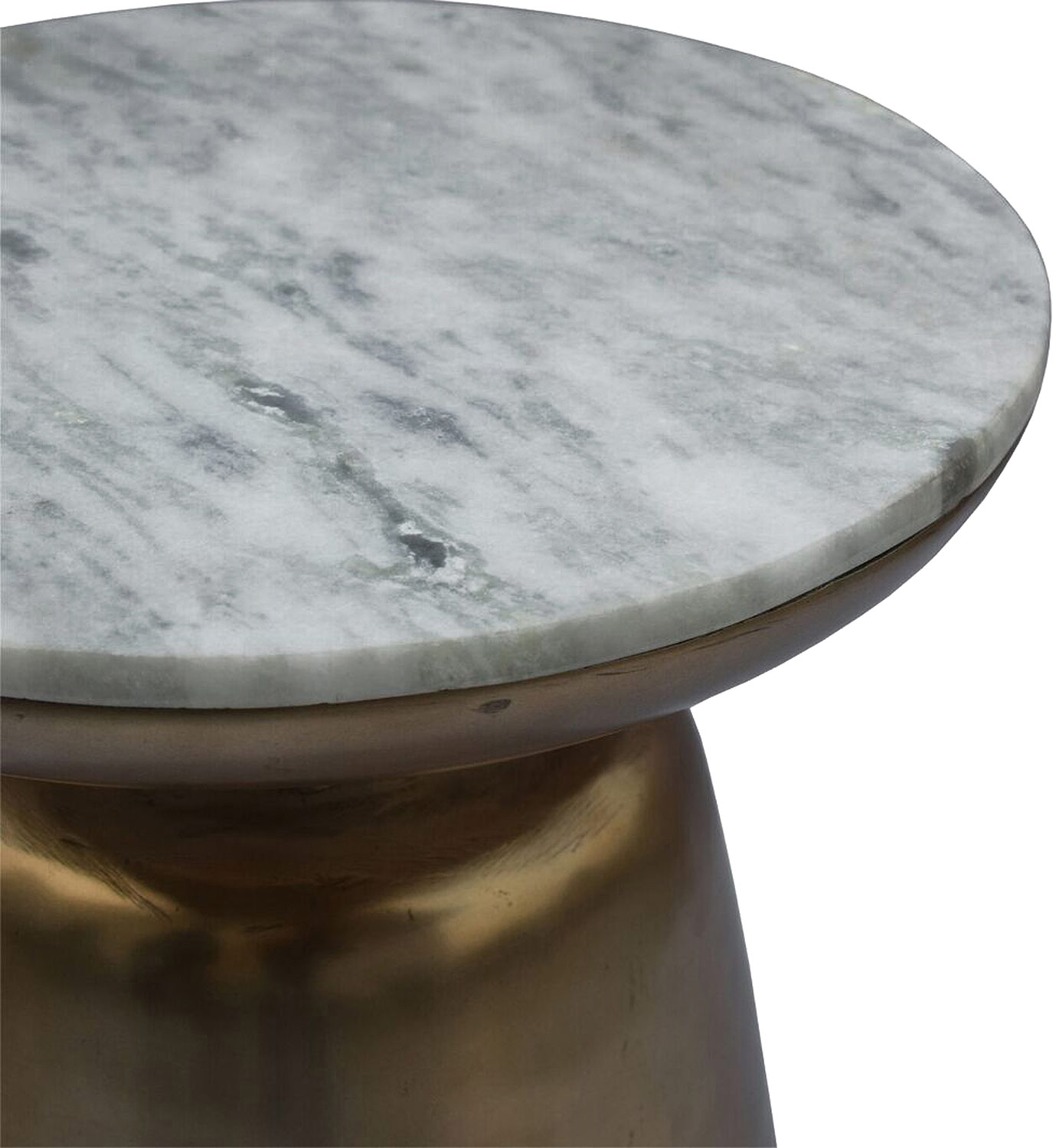 Ren-Wil Dante Accent Table - Brass