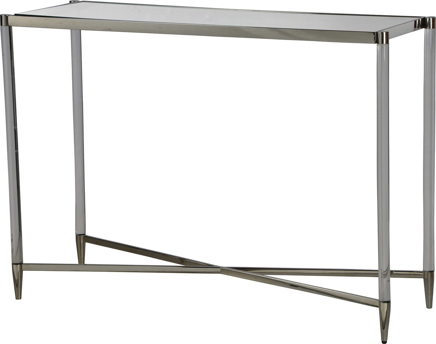 Ren-Wil Zelda Console Table - Chrome