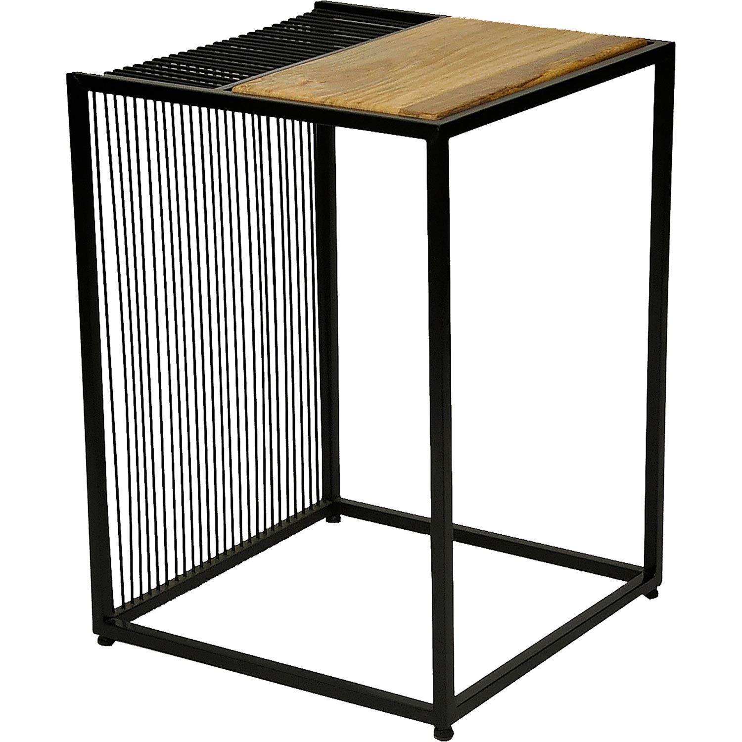 Ren-Wil Rawley Accent Table - Natural/Black