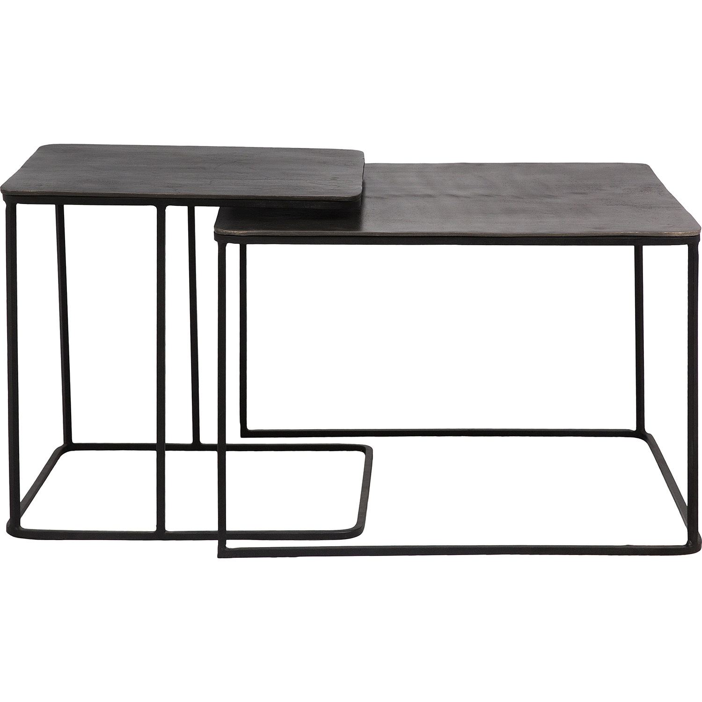 Ren-Wil Rafferty Accent Table - Charcoal/Matte Black