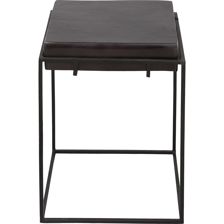 Ren-Wil Nansen Accent Table - Bronze/Matte Black