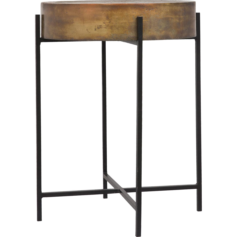 Ren-Wil Valetta Accent Table - Antique Gold