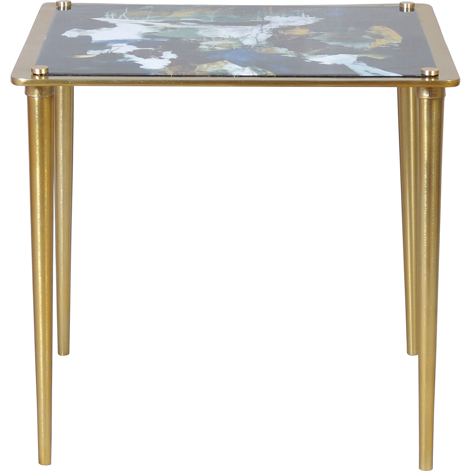 Ren-Wil Noble Accent Table - Brass
