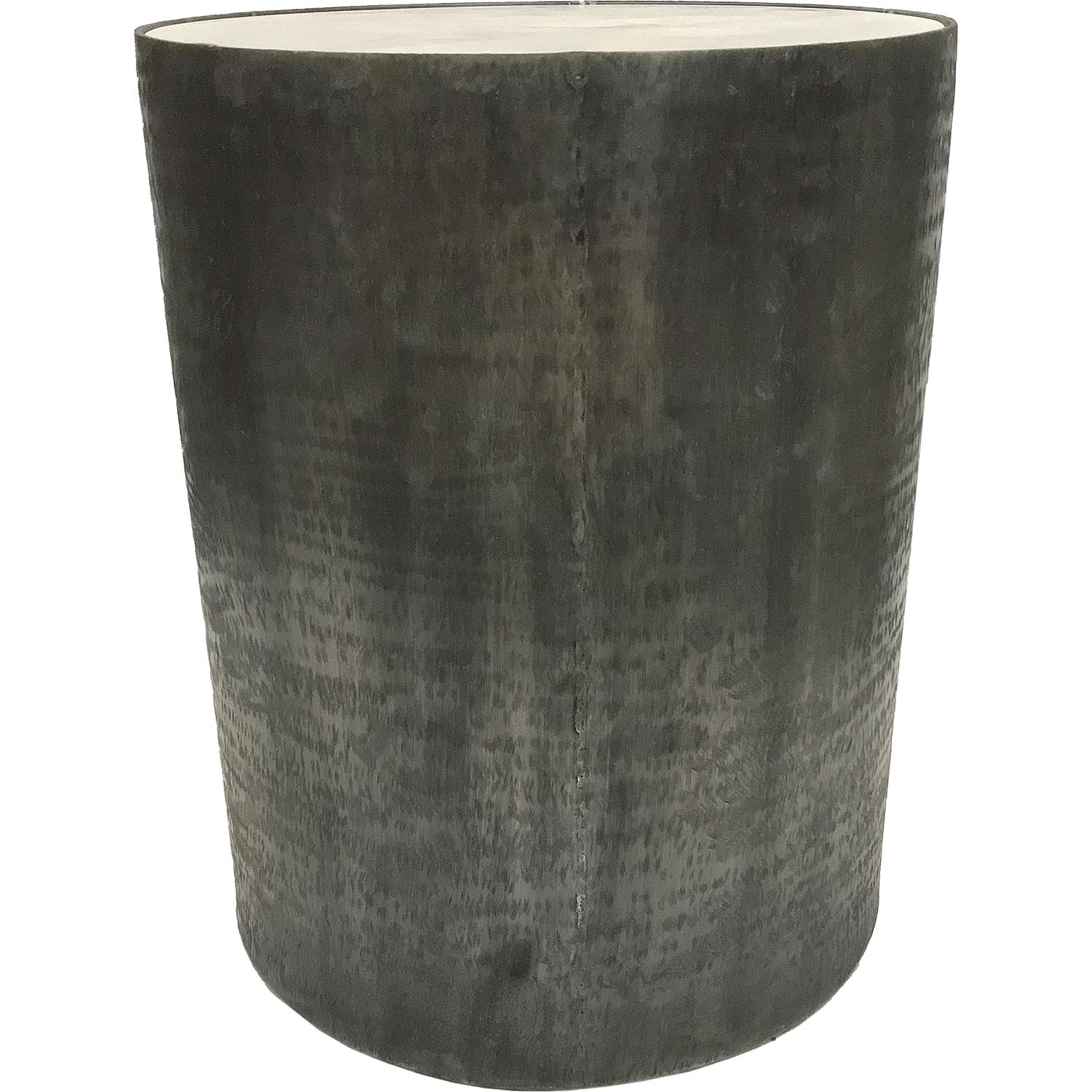 Ren-Wil Balford Outdoor Accent Table - White Marble/Brush Gray