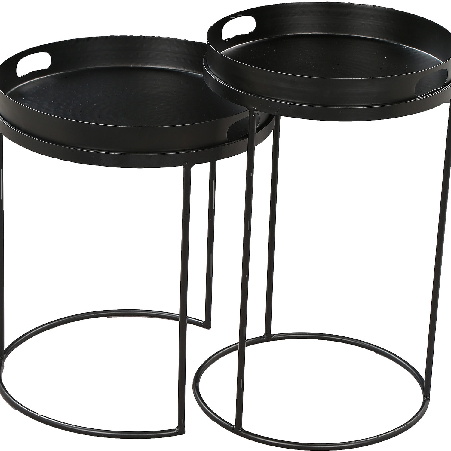 Ren-Wil Fannie Outdoor Accent Table - Black