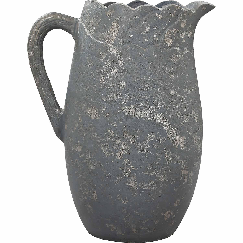 Ren-Wil Lazarus Vase - Distressed Grey