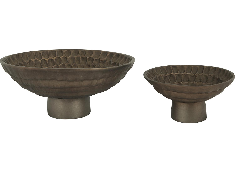 Ren-Wil Liza Vase - Antique Brass