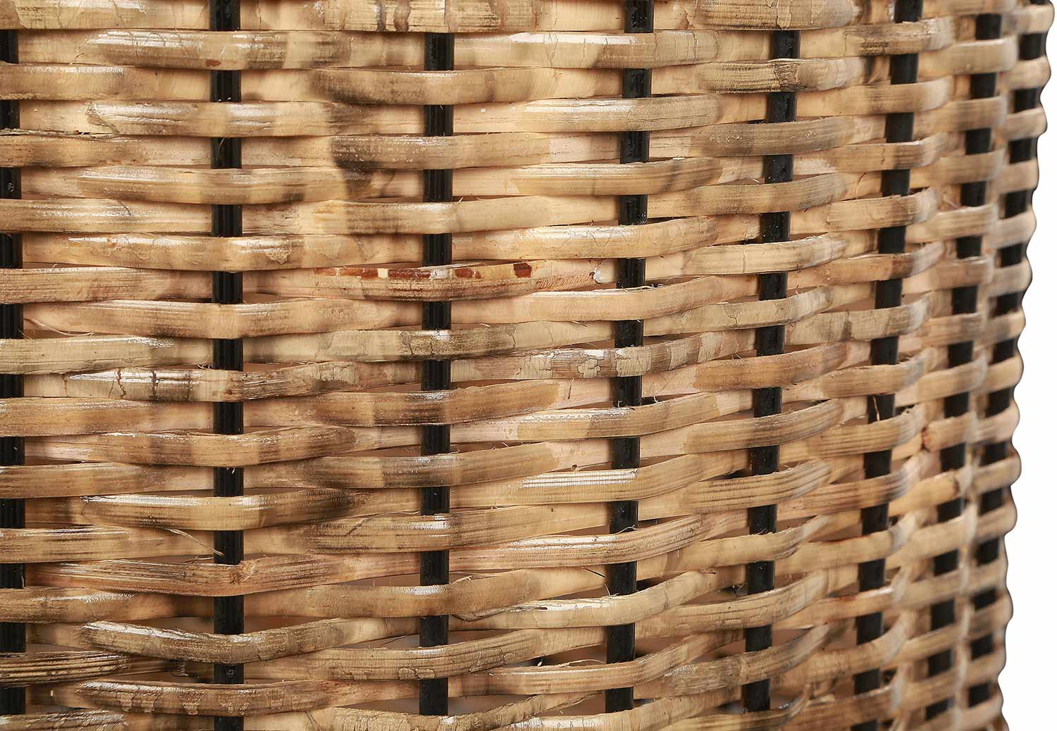 Ren-Wil Haya Outdoor Vase - Natural Rattan Brown