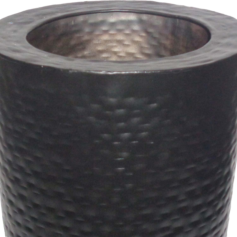 Ren-Wil Jamin Outdoor Vase - Black Powder Coated