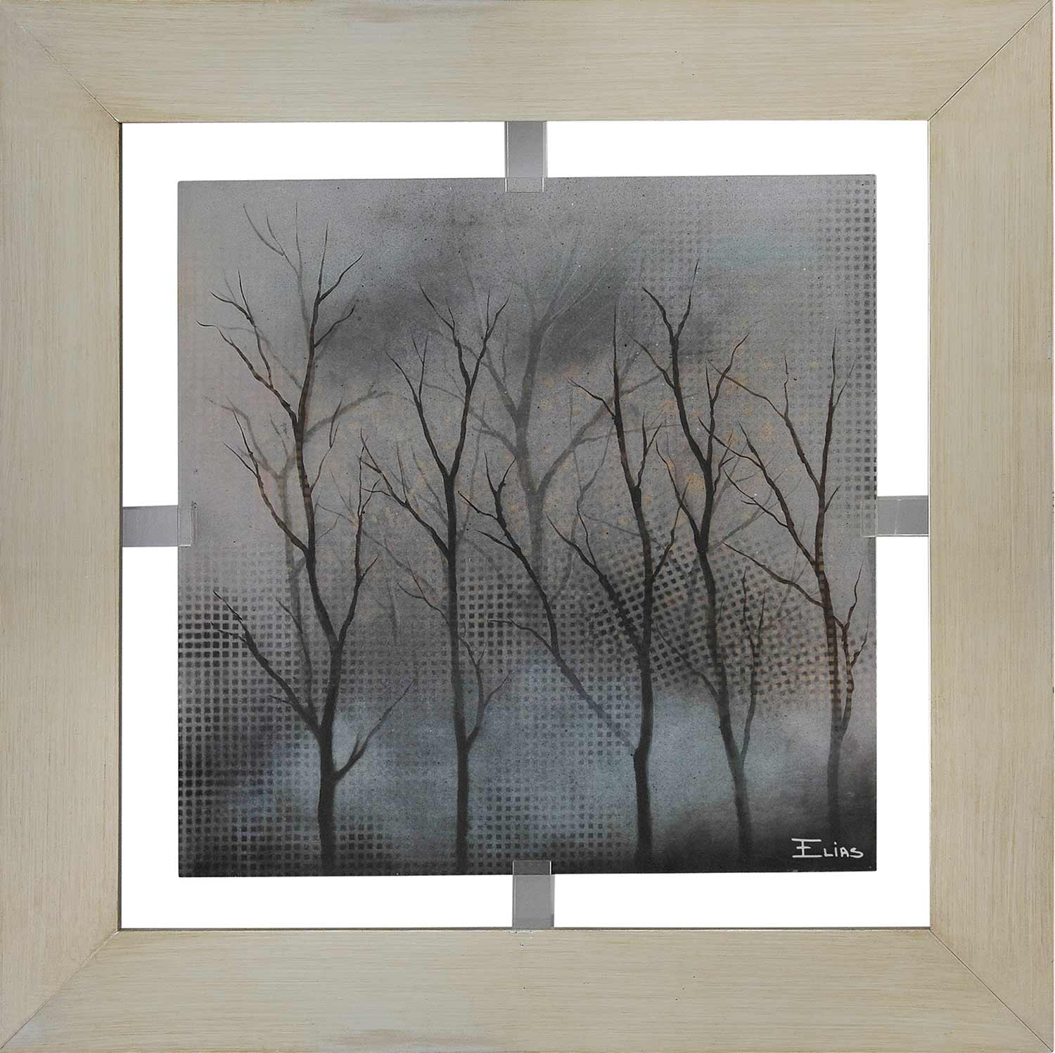 Ren-Wil Stormy Nights Framed Painting W6078
