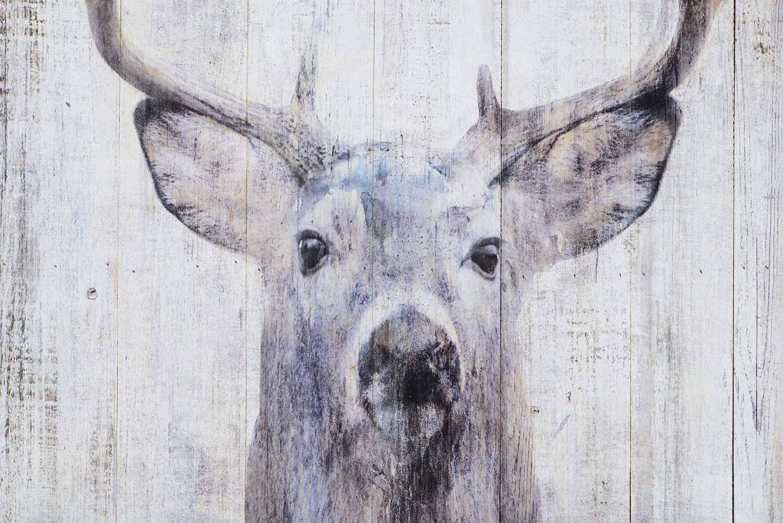 Ren-Wil Gaze Wall Decor Painting - White/Grey
