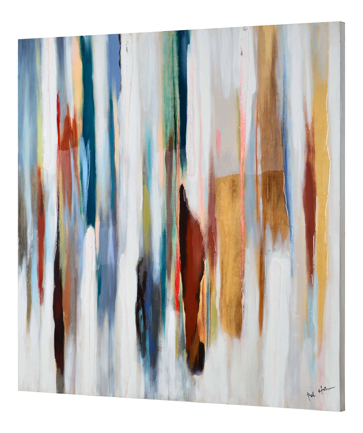 Ren-Wil Harmon Wall Decor Painting - Multicolor
