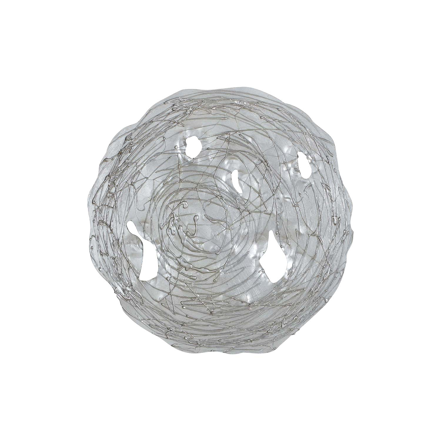 Ren-Wil Molly Wall Decor Painting - Silver Leaf
