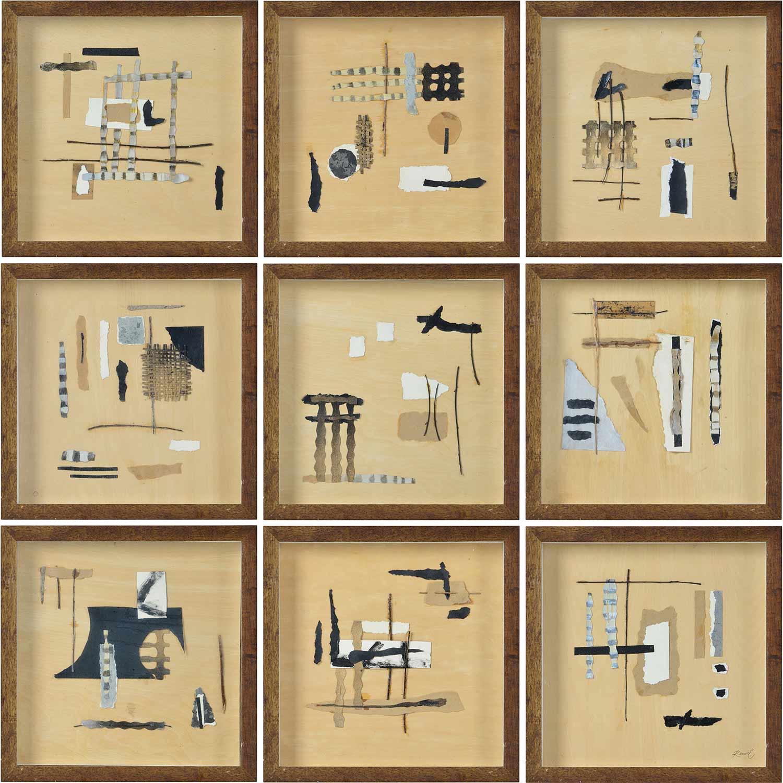 Ren-Wil Adam Alternative Wall Decor - Collage Accent/Brown/Black