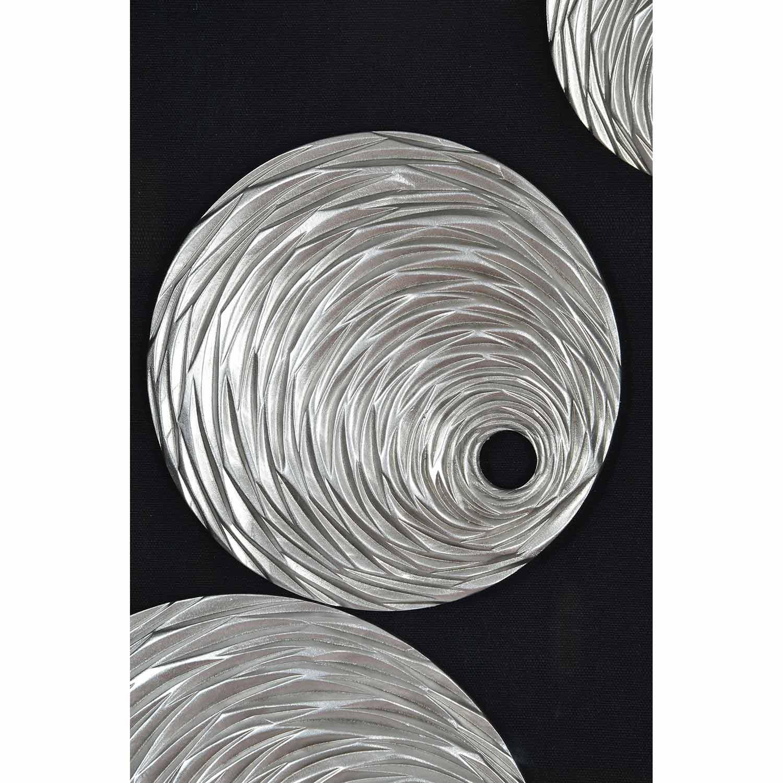 Ren-Wil Ahara Alternative Wall Decor - Glass/Black