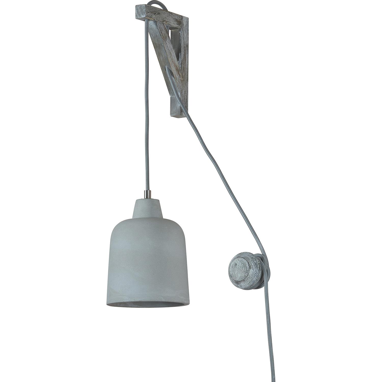 Ren-Wil Marjo Wall Sconce - Cement/Grey Wash