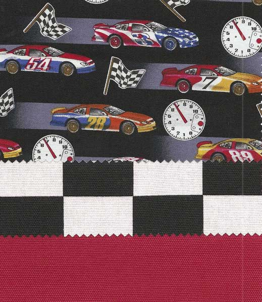 Race Cars Bedding-Southern Textiles