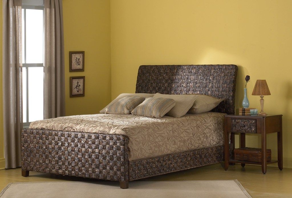 Fashion Bed Group Raffia Bed
