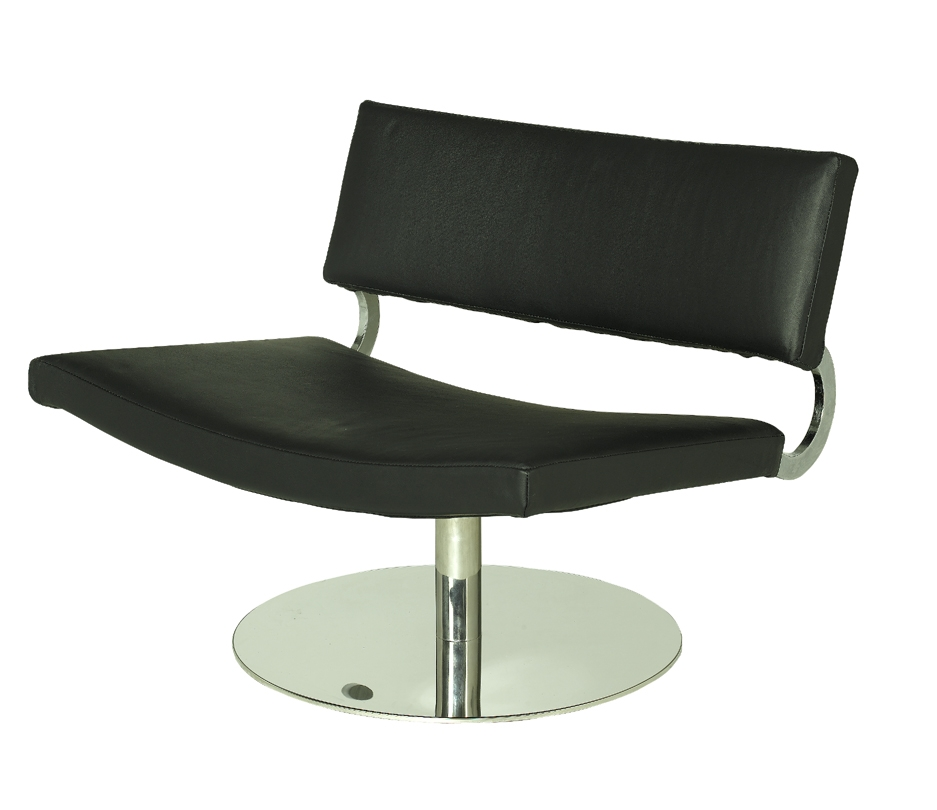 Alphaville Design Fatboy Leather Swivel Chair-Alphaville