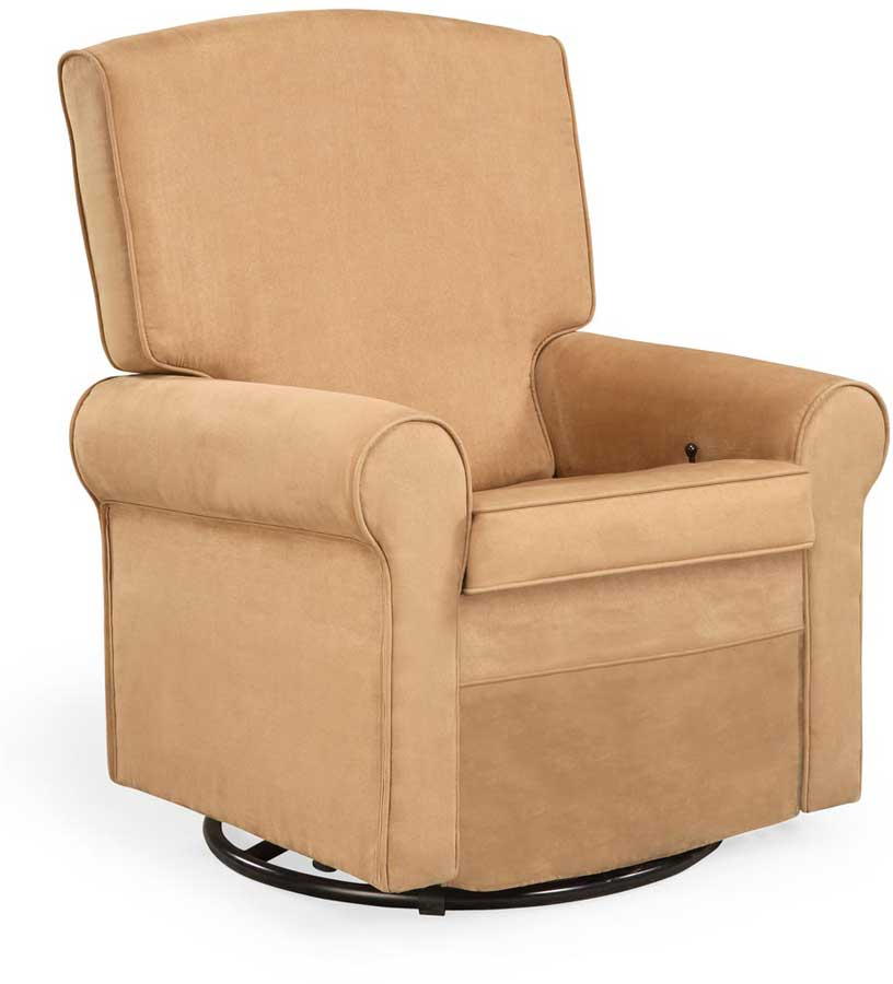 shermag classic glider rocker and ottoman 37204