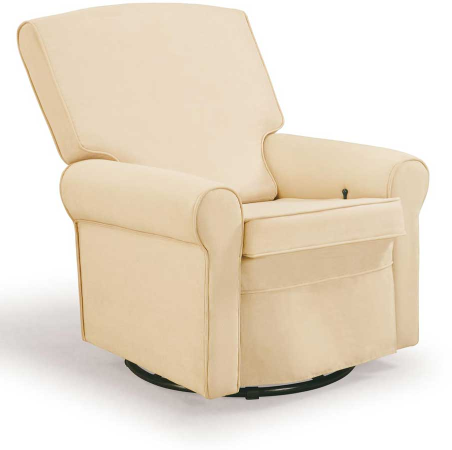 Shermag Classic Glider Rocker And Ottoman 37204 G8 0183 At