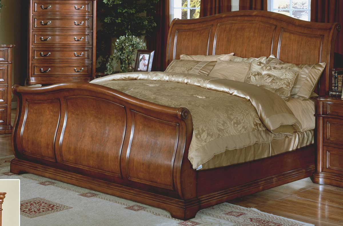 Signature Home Washington Sleigh Bed