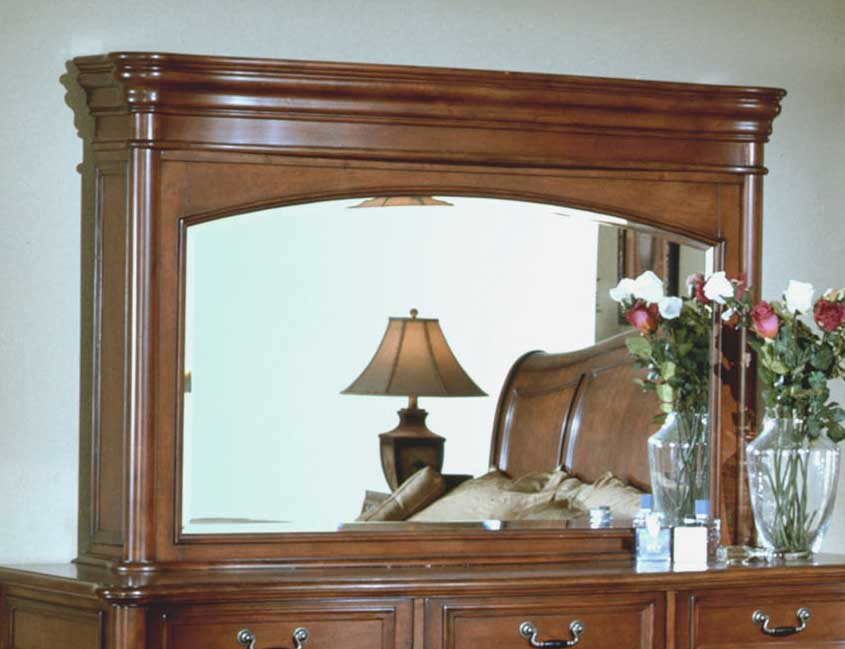 Signature Home Washington Mirror TV Hutch Top