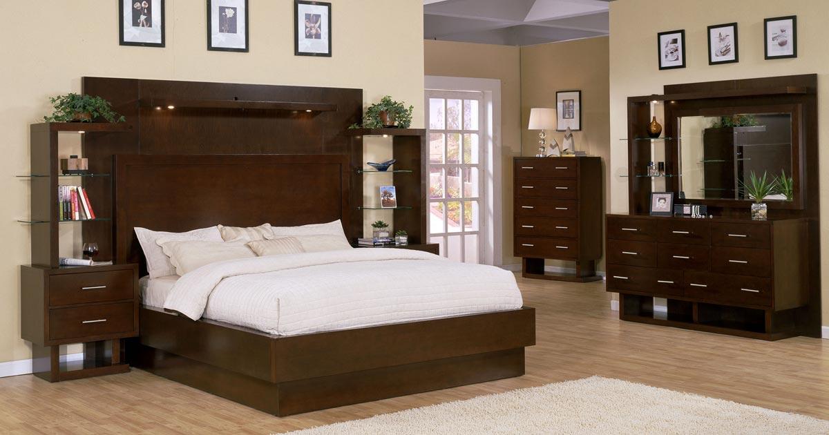 Signature Home Contempo Bedroom Collection - Espresso