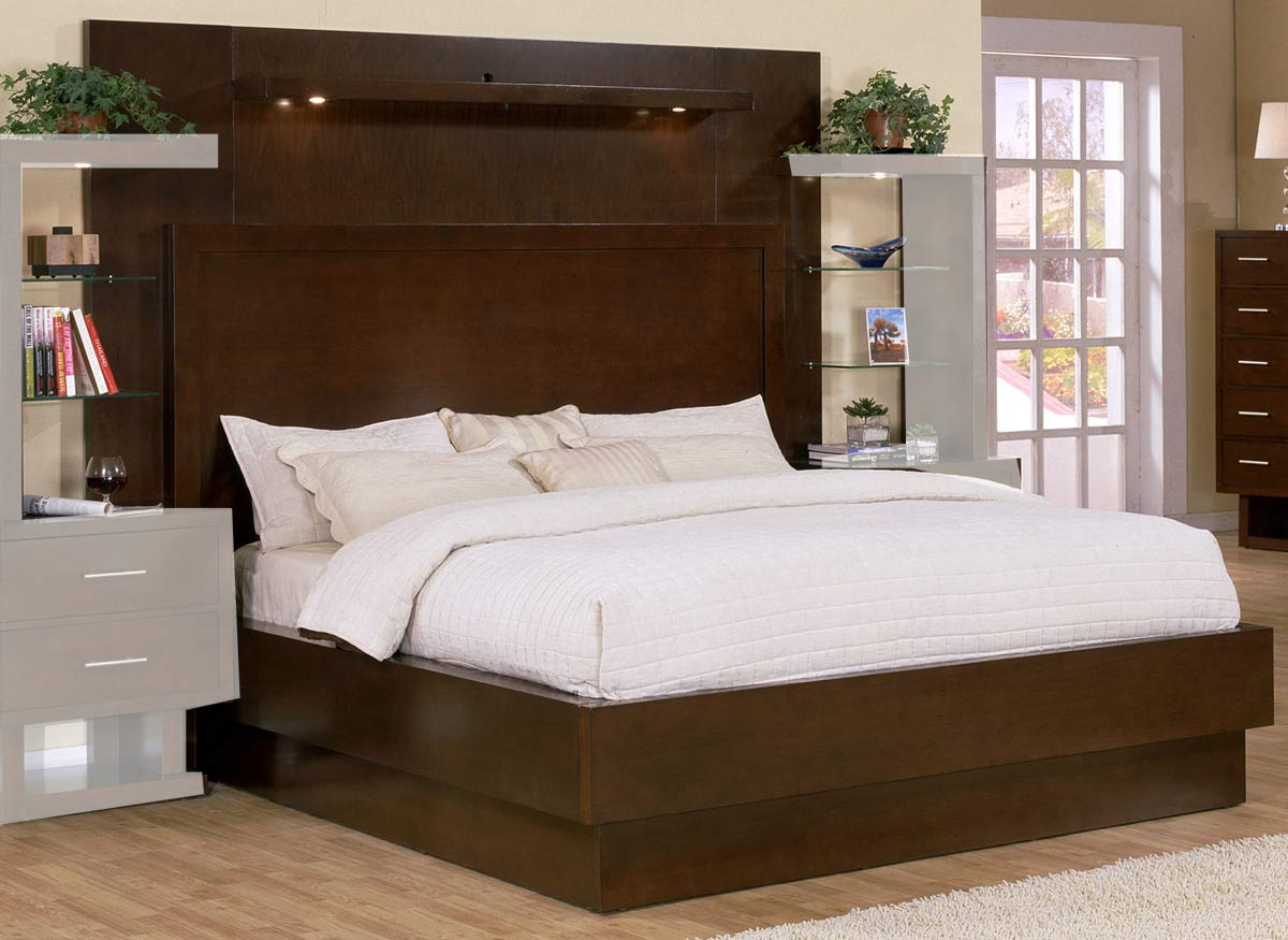 Signature Home Contempo Bed - Espresso