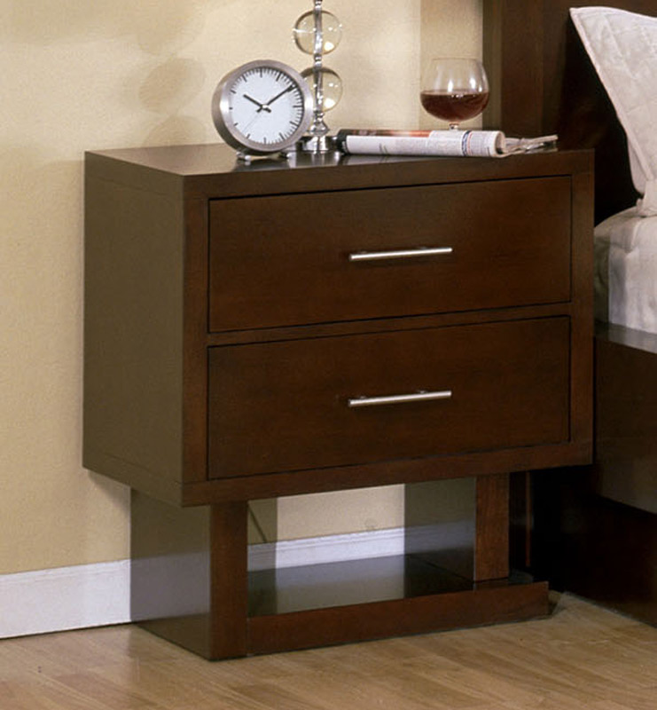 Signature Home Contempo Night Stand - Espresso