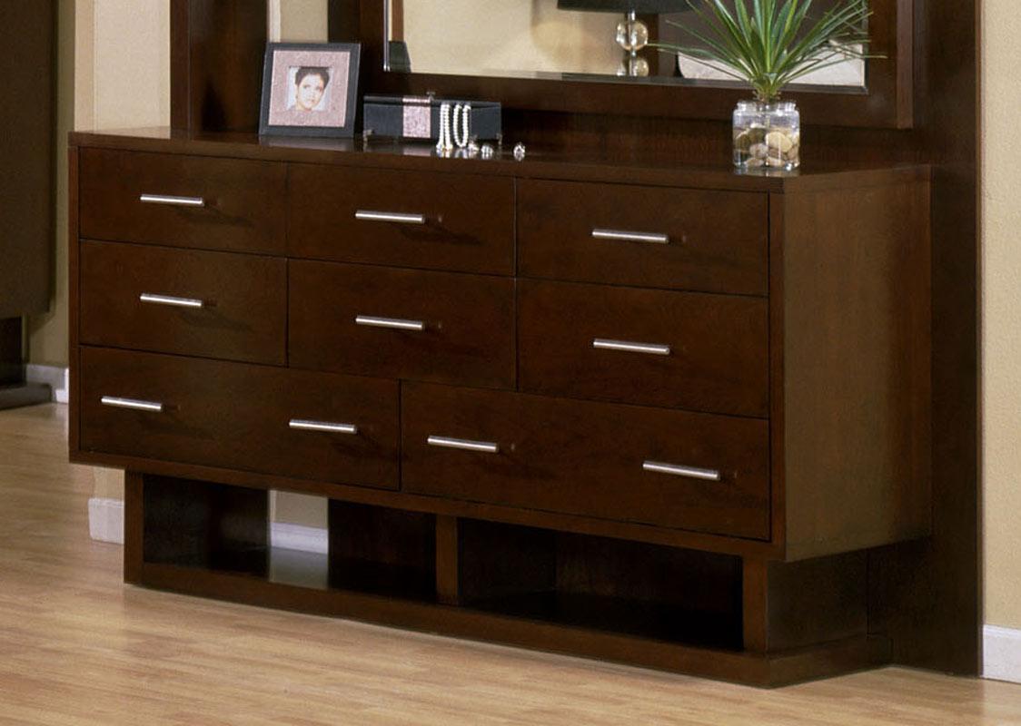 Signature Home Contempo Dresser - Espresso