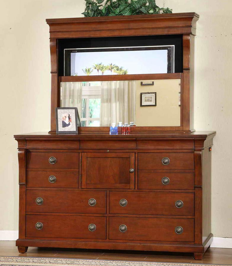 Signature Home Raleigh Dresser with Mirror