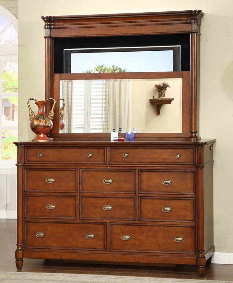 Signature Home Durham Dresser with Mirror