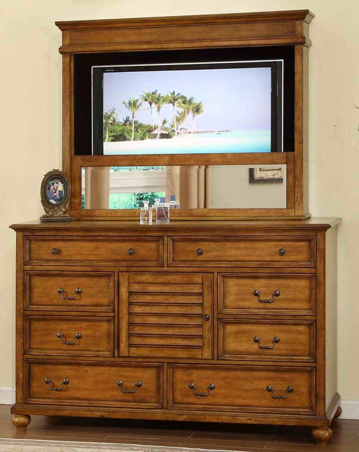Signature Home Lighthouse Dresser with Mirror
