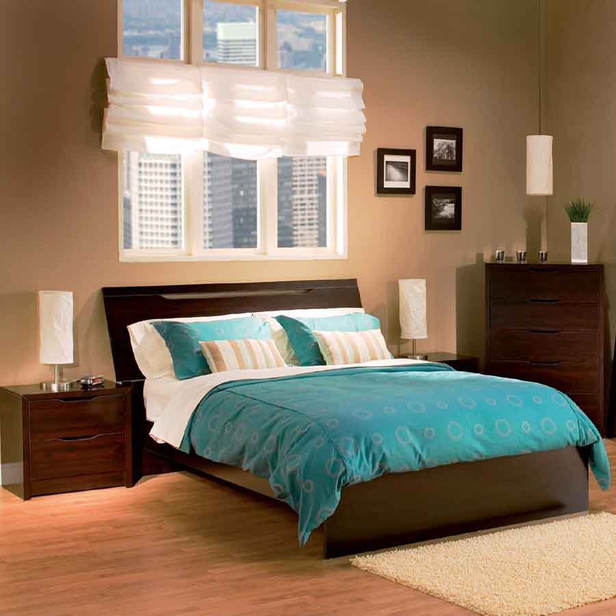 South Shore Sereno Sauvignon Romance Master Bedroom Collection