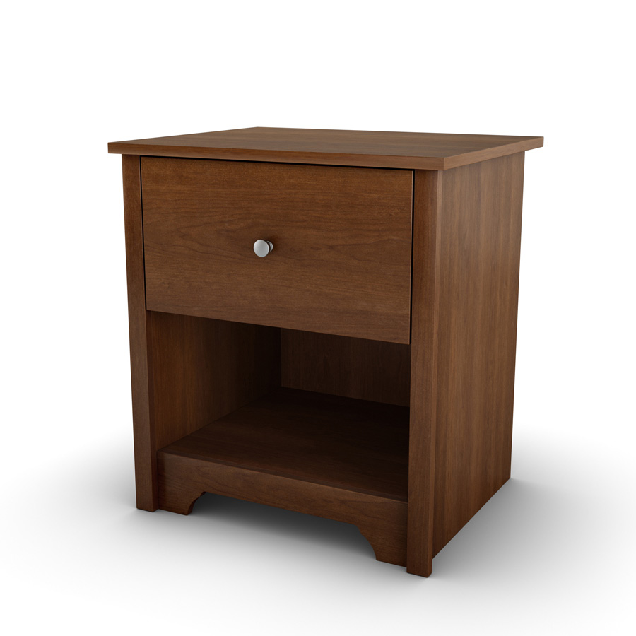South Shore Vito Sumptuous Cherry Night Stand