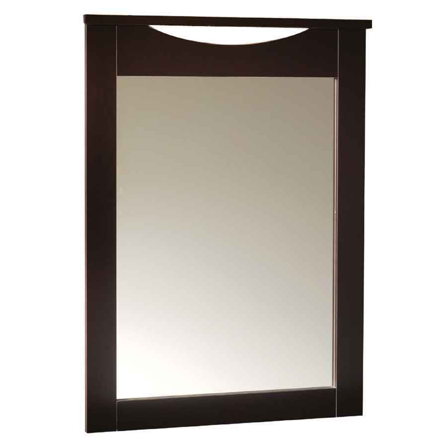 South Shore Step One Collection Mirror - Chocolate
