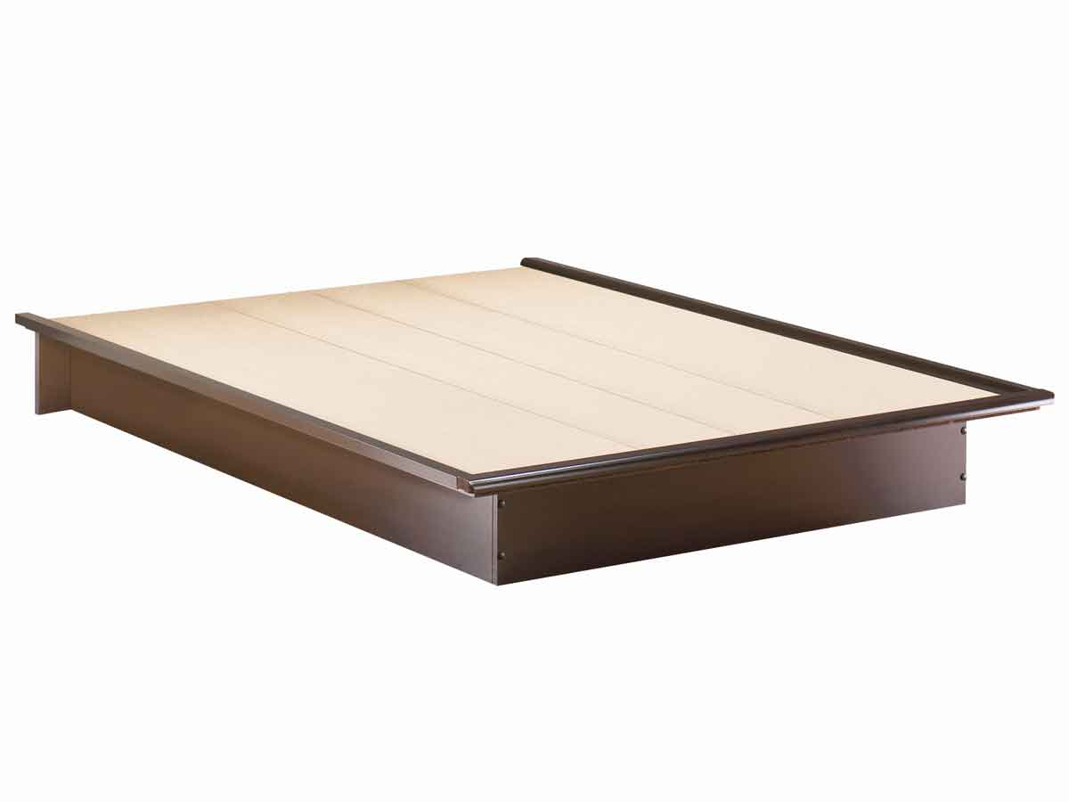 South Shore Step One Chocolate Platform Bed