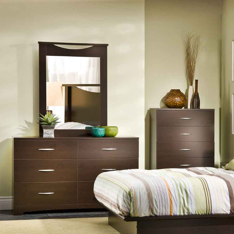 South Shore Step One Chocolate 5-Drawer Chest