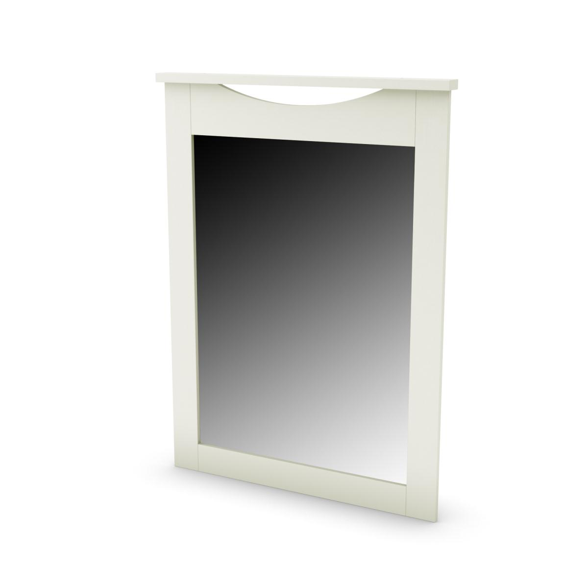 South Shore Step One Mirror 30 Inch x 41 Inch - Pure White