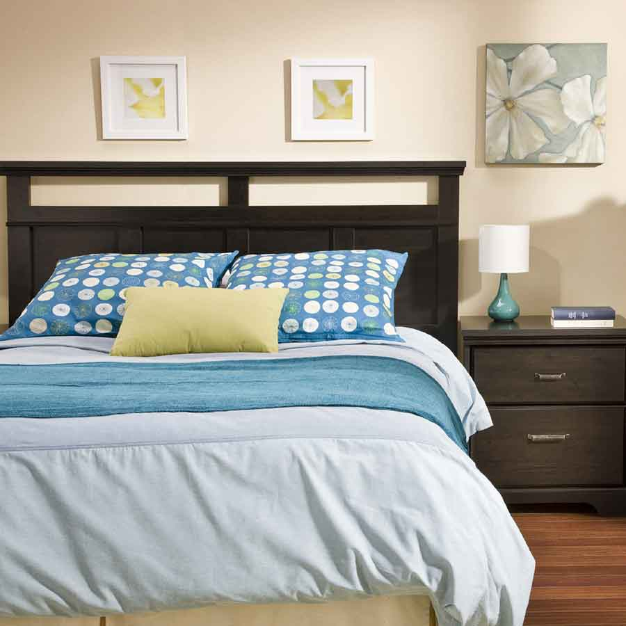 South Shore Versa Ebony Romance Bedroom Collection