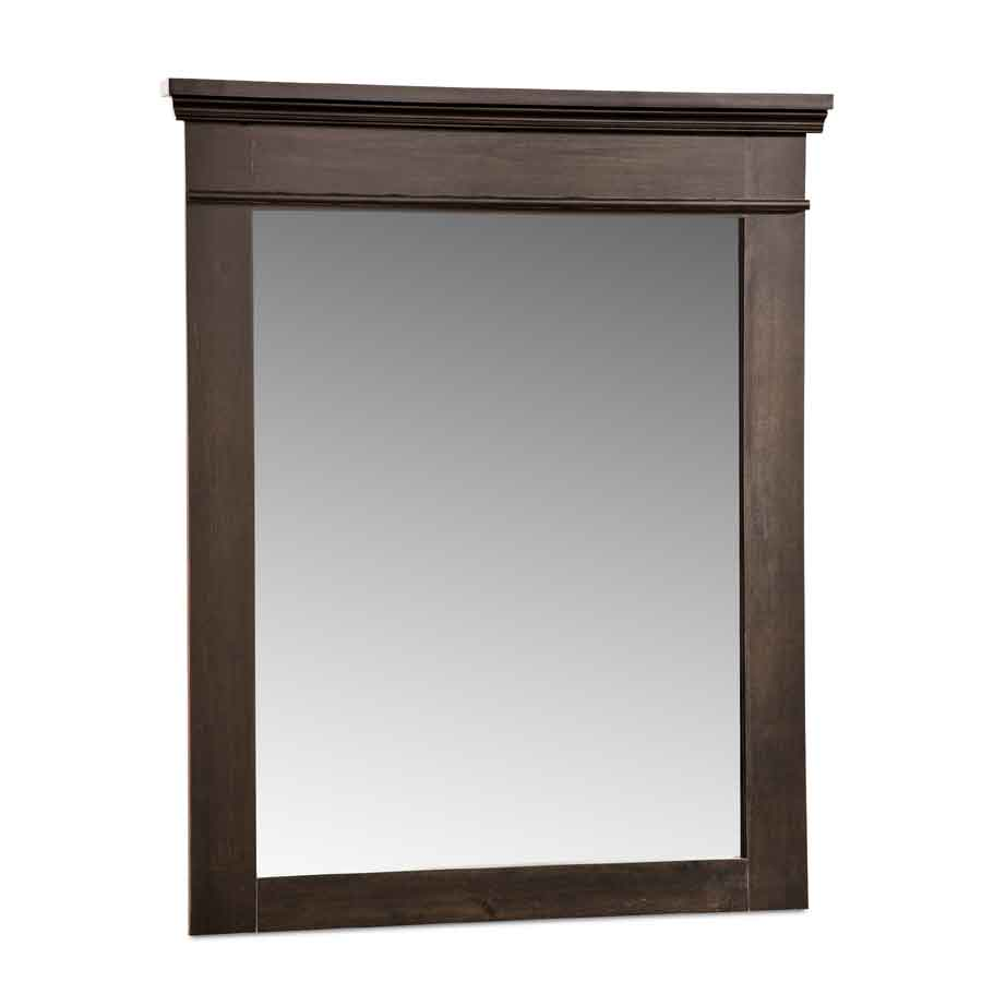 South Shore Versa Ebony Mirror