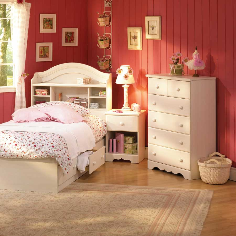 South shore summer breeze vanilla cream kids bedroom for Stages bedroom collection