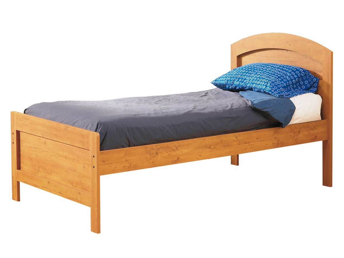 South Shore Prairie Country Pine Twin Bed