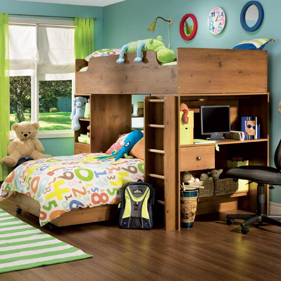 South Shore Furniture Loft Bed 900 x 900