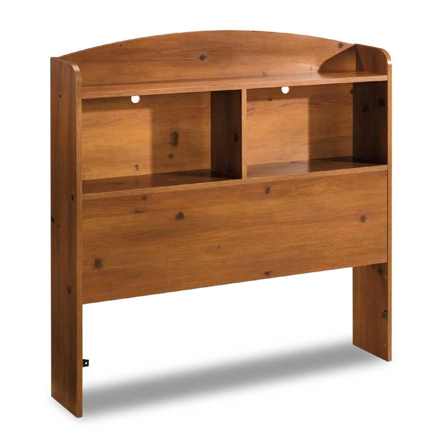 South Shore Logik Twin Bookcase Headboard - Sunny Pine