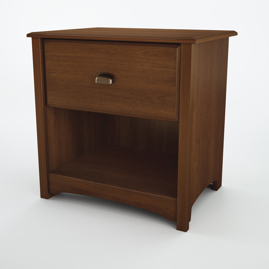 South Shore Willow Sumptuous Cherry Night Stand