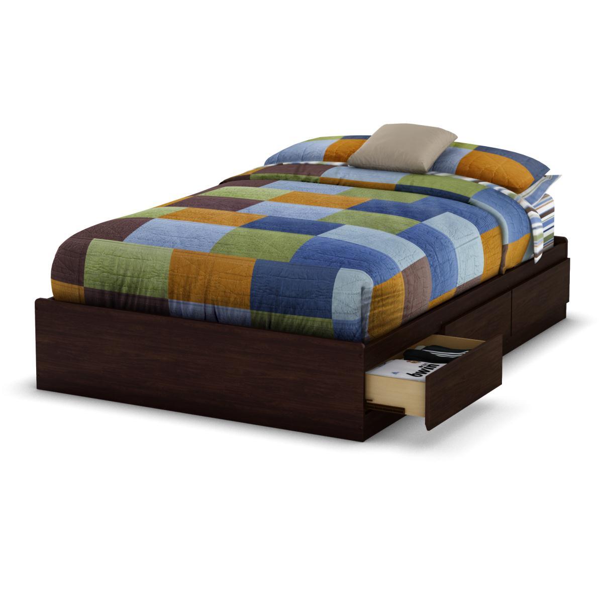 South Shore Lounge Full Mates Bed - Havana